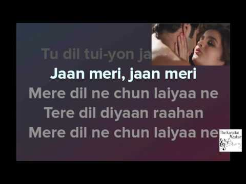 Main Tenu Samjhawan Ki - Alia Bhatt - Karaoke (with lyrics and video)