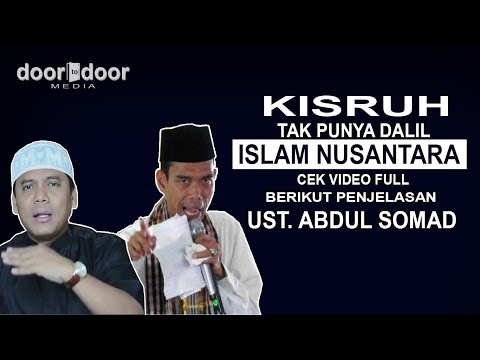 Kisruh di Pengajian Gus Nur, Perhatikan Pendapat Gus Nur dan UAS tentang Islam Nusantara