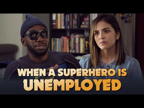 When A Superhero Is Unemployed (with Lamorne Morris)