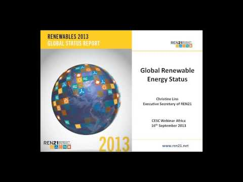 REN21 Renewables Global Status Report: Focus on Africa