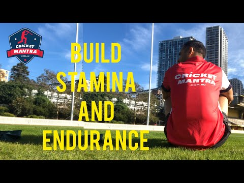 Stamina and Endurance Building Workout for a Junior Cricketer.