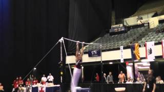 Yul Moldauer - High Bar - 2014 Men's Junior Olympic National Championships