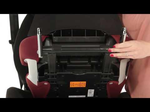 Cybex Solutions X2 Fix Car Booster Seat  Kiddicare