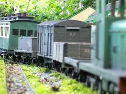 Irish Narrow Gauge Diesel Garden Railway
