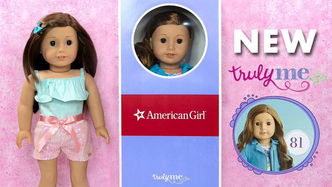 Unboxing American Girl 81 New Truly Me Doll New Packing And