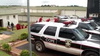 Presos começam a ser transferidos para nova penitenciária