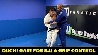 Ouchi Gari For BJJ & Grip Control by Olympic Judo Champion Satoshi Ishii