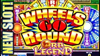 ★$300 ARUZE SLOT CHALLENGE! 💪 ★ WHEELS GO ROUND - ORB LEGEND Slot Machine Bonus (PART 2 OF 3)
