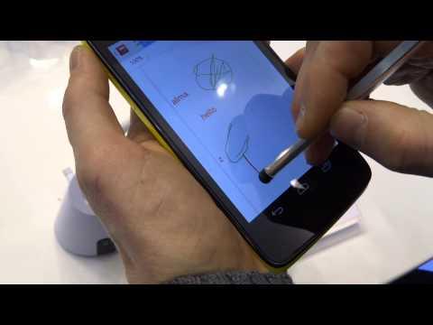 Alcatel One Touch Scribe HD: anteprima dal vivo al MWC 2013