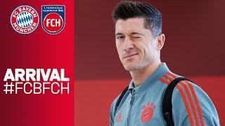 FC Bayern's arrival at Allianz Arena ahead of DFB Cup | FC Bayern - 1. FC Heidenheim