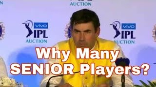 Is MS Dhoni drops Ashwin for Selecting Harbhajan for CSK? -Stephen Fleming press conference IPL 2018