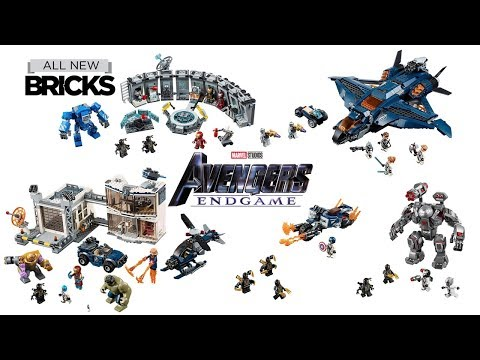 Lego Avengers End Game Compilation of All Sets
