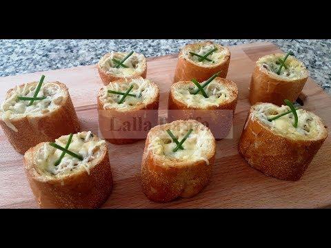 baguette-farcie-au-blanc-de-poulet-فكره-رائعه-لمملحه-سريعه-بحشوه-لذيذه