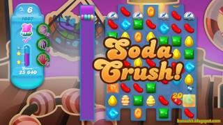 Candy Crush Soda Saga Level 1007 (3 stars, No boosters)