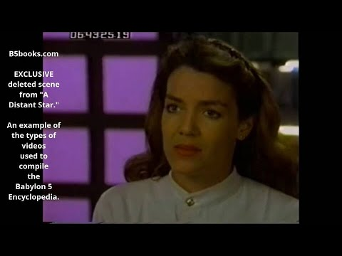 A Distant Star Deleted Scene Babylon 5 Encyclopedia