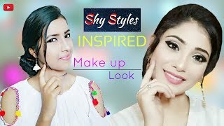 Shy Styles Inspired Makeup Look || HD 720pix