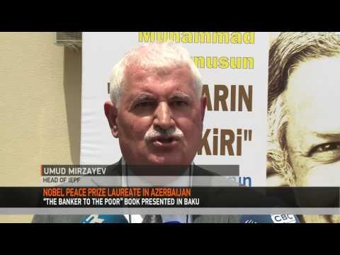 NOBEL PEACE PRIZE WINNER IN AZERBAIJAN