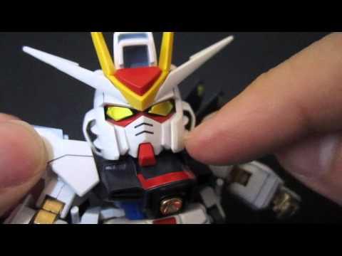 SD Strike Freedom Gundam - Seed Destiny BB Senshi gunpla model review