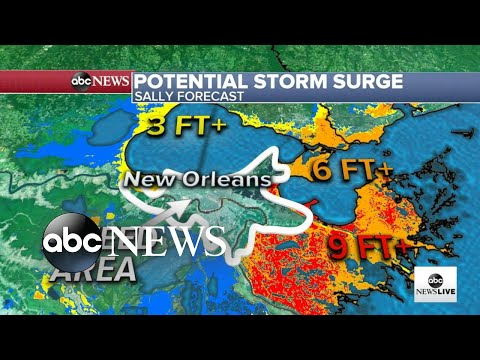 Life-threatening Storm Surge Expected As Hurricane Sally Targets The Gulf Coast L ABC News