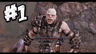 Middle-earth: Shadow of Mordor - Pc Gameplay Part 1 - Nákra Rock Crusher - [Ultra 1080p HD]