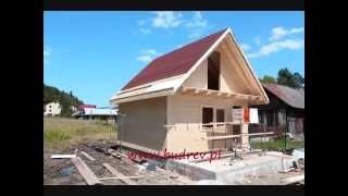 jak zbudować domek z drewna  gospodarczy SONIA, kuba, BuDrev, budrew,