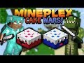 MINECRAFT CAKE WARS! - IT'S LIKE BED WARS BUT WITH CAKE!!! (Minecraft Bedrock)