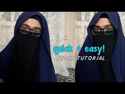 Quick&Easy Niqab tutorial