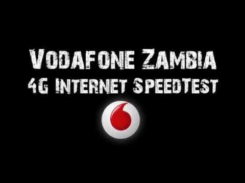 Vodafone Zambia Internet Speed Test