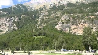 Camping Val di Rhemes, Rhemes-Saint-Georges, Aosta, Italian Alps.