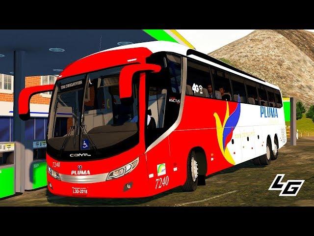 ????Comil Campione Invictus 1200 Scania K400IB 6x2 no Proton Bus Simulator Road/Rodoviário +G27