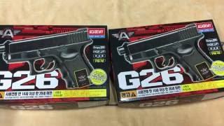 [황's TV ]   ACADEMY GLOCK 26  아카데미 G26 (GLOCK) BB GUN AIRSOFT