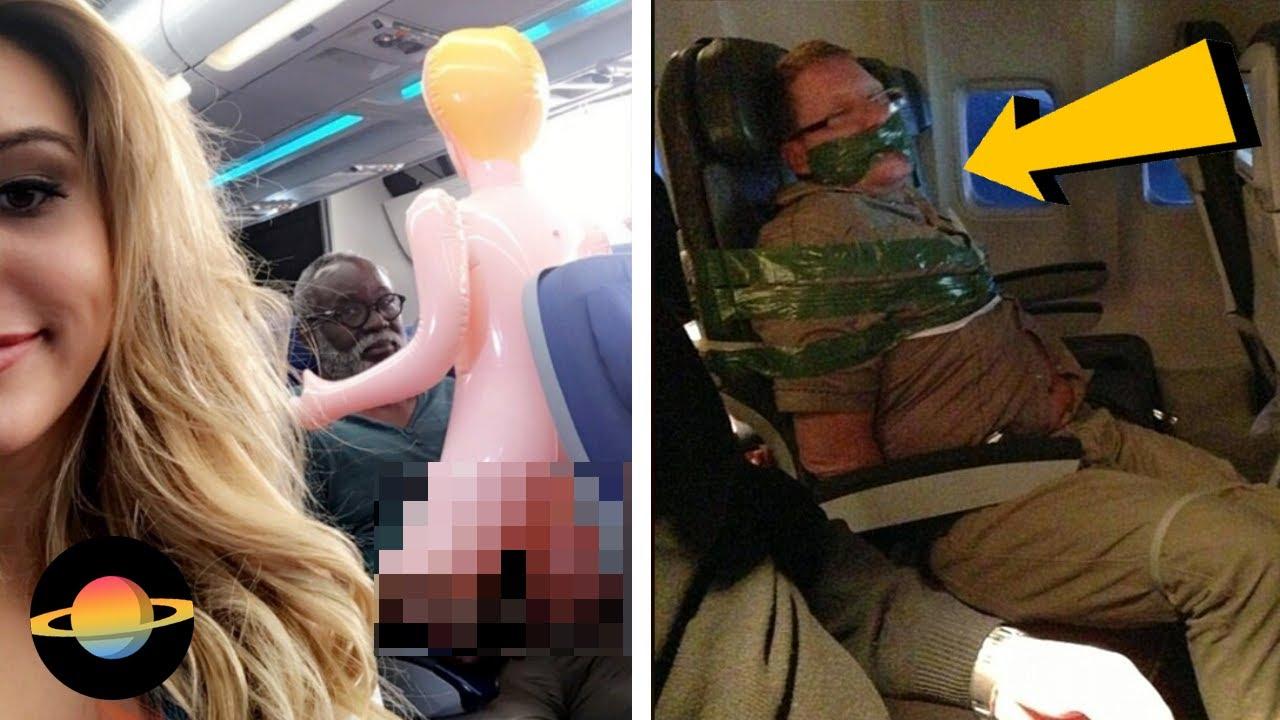 10 najśmieszniejszych rzeczy, które miały miejsce w samolotach
