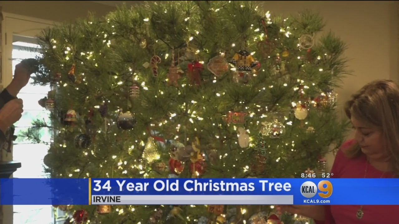 Family Keeps Same Christmas Tree For Over 3 Decades - YouTube