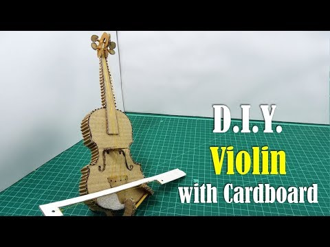 DIY: Violin with Cardboard