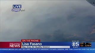 Air District Issues Smoke Advisory From Napa, Sonoma Wildfires