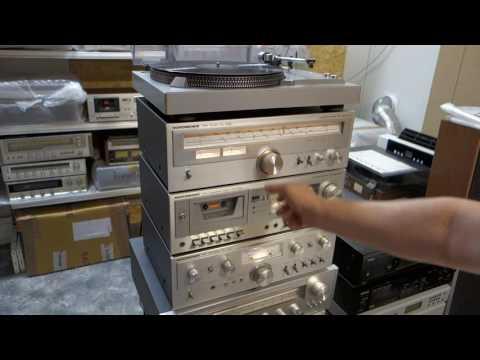 Nordmende Philharmonic Hi-Fi system PA-1100 TU-1050 CD-1050 RP-1100