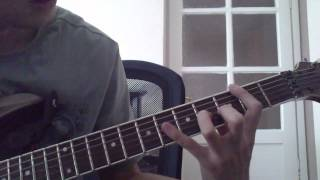 how to play skylar grey words on guitar (slow)