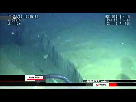 80m-long fissure found in seabed off Sanriku - JAPAN