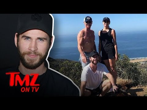 Liam & Chris Hemsworth Have A Hot Dad! | TMZ TV
