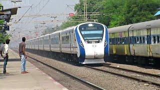 14 In 1 l Strom LHB & ICF Action l Vande Bharat + Rajdhani + Poorva + Garib Rath + Duronto & More !!