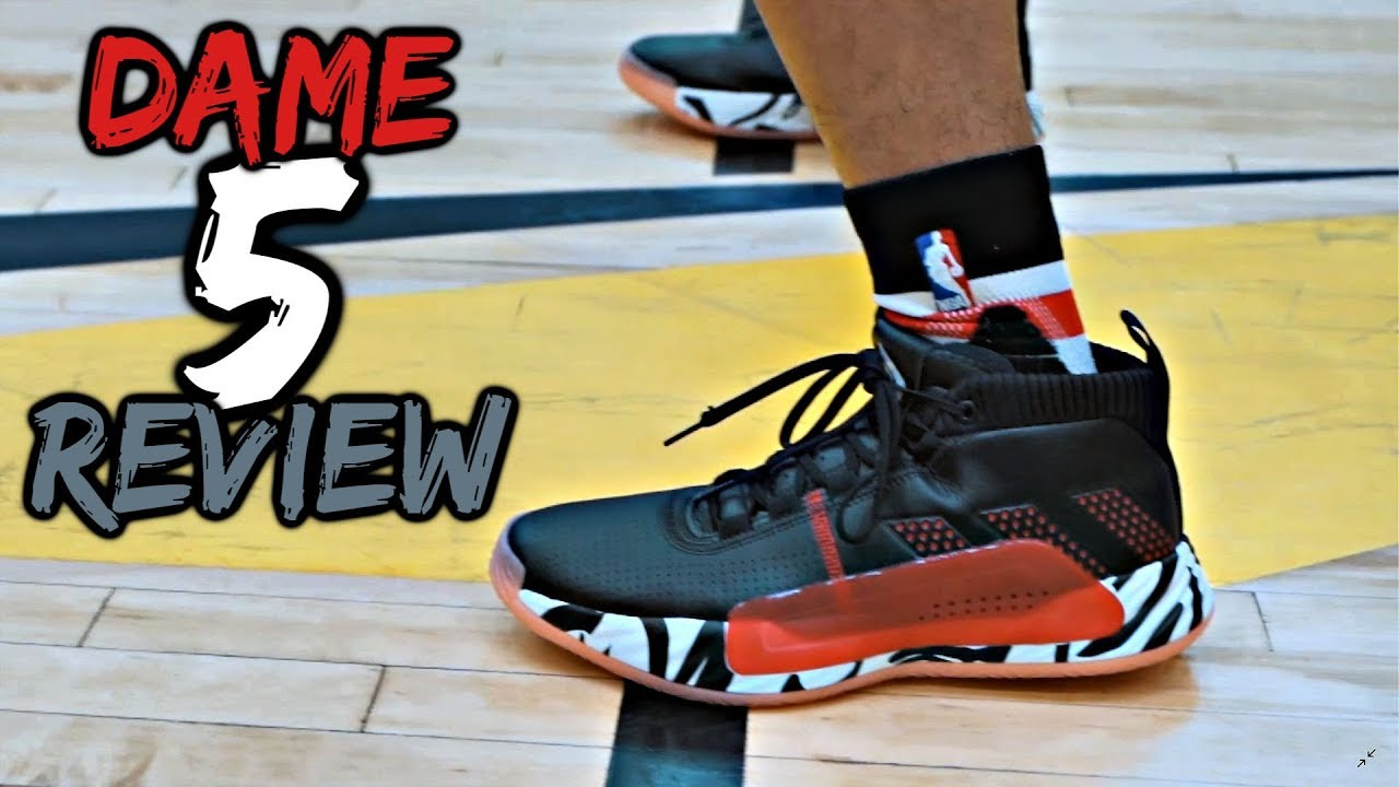 exclusive shoes pretty cool cheapest price Adidas Dame 5 Performance Review!