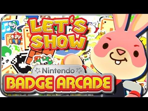 Let's Show Nintendo BADGE ARCADE
