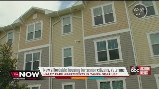 Haley Park Apartments offer new affordable housing for senior citizens, veterans