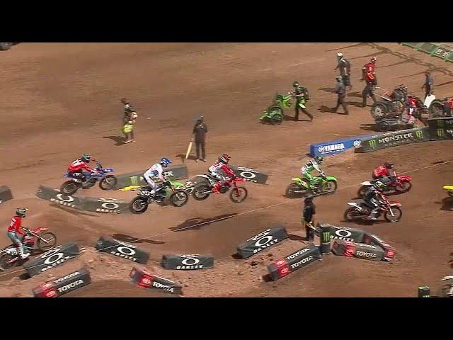 450SX Main Event Highlights - Round 17 Salt Lake City