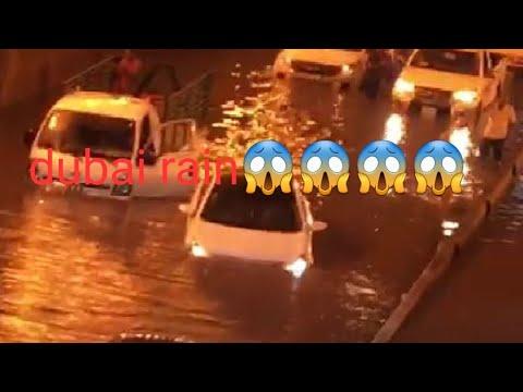 OMG😱😱😱😱😱😱 havey Rainfall 🏊♂️and wind storm in Dubai