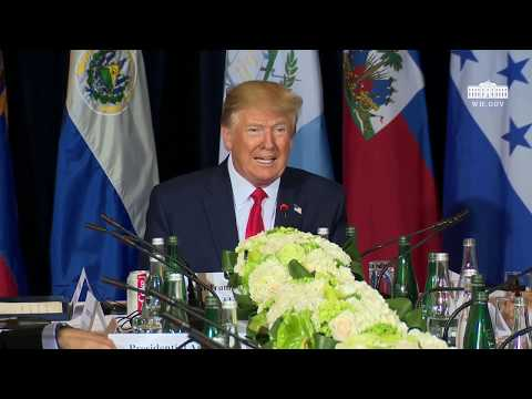 President Trump Participates in a Multilateral Meeting on the Bolivarian Republic of Venezuela