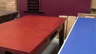 5 In 1 Multi Games Table - Swing Mechanism Pool & Air Hockey
