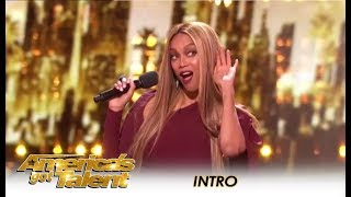 Tyra Banks Shows Us How To Make An ENTRANCE!  | America's Got Talent 2018