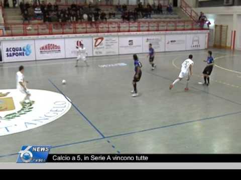 Calcio A 5, In Serie A Vincono Tutte