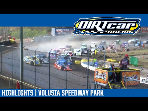 UMP Modifieds Volusia Speedway Park DIRTcar Nationals February 19, 2017 | DAY HIGHLIGHTS